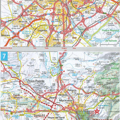 Marco Polo Spain & Portugal Sheet Map 9783829767262
