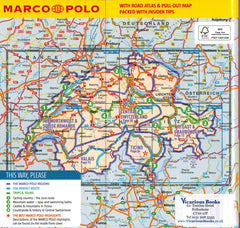 Marco Polo Switzerland Guide IBSN:9783829707527 Travelguide, Tour, Driving Tour
