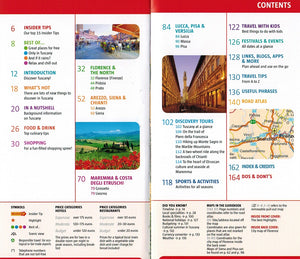 Marco Polo Tuscany Guide 9783829707268 contents