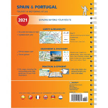 Load image into Gallery viewer, 2021 Michelin Spain & Portugal Tourist Road Atlas
