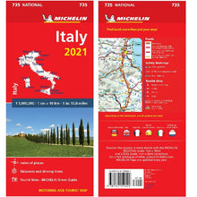 Load image into Gallery viewer, 2021 Michelin Italy Sheet Map 735