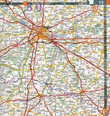 2020 Michelin Laminated France Spiralbound Road Atlas ISBN:9782067242272 amiens mapping
