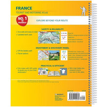 Load image into Gallery viewer, 2020 Michelin France Spiralbound Road Atlas ISBN:9782067242234 back cover