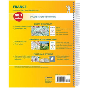 2020 Michelin France Spiralbound Road Atlas ISBN:9782067242234 back cover