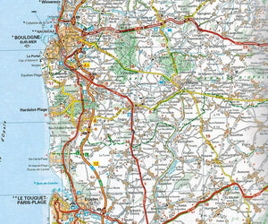 2020 Michelin France Spiralbound Road Atlas ISBN:9782067242234 map boulogne hardelot-plage le touquet-paris-plage