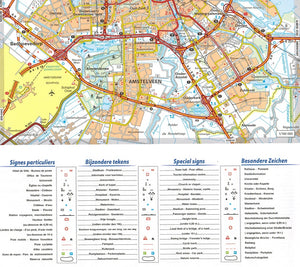 Michelin Benelux Sheet Map 714 IBSN:9782067170605 Atlas, Altases, Map, Mapping, Locator map amstelveen city map