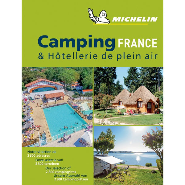 2019 Michelin Camping France 9782067237865 front cover