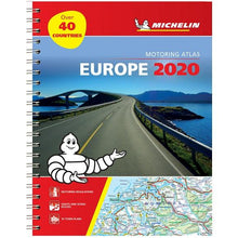 Load image into Gallery viewer, 2020 Michelin Motoring Atlas Europe 9782067244450 front cover
