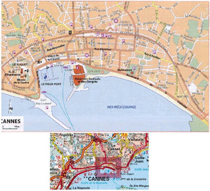 2020 Michelin France Flexibound (Stitched) Fold Flat Road Atlas 9782067242241 city town map cannes