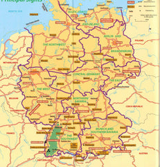 Germany - Michelin Green Guide IBSN:9782067216105 Travelguide, Tour, Driving Tour