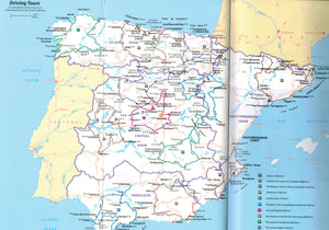 Spain - Michelin Green Guide IBSN:9782067212503 Travelguide, Tour, Driving Tour