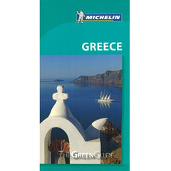 Greece - Michelin Green Guide 9782067220546 Travelguide, Tour, Driving Tour front cover