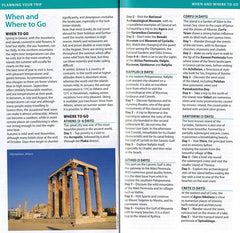 Greece - Michelin Green Guide 9782067220546 Travelguide, Tour, Driving Tour when and where to go athens