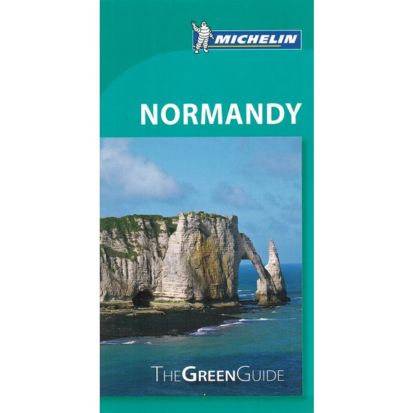 Normandy - Michelin Green Guide IBSN:9782067212442 Travelguide, Tour, Driving Tour front cover