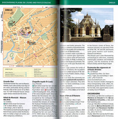 Normandy - Michelin Green Guide IBSN:9782067212442 Travelguide, Tour, Driving Tour plaine de l'eure and pays d'ouche