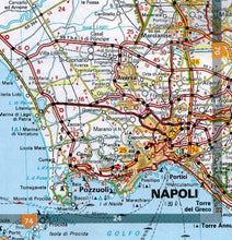 Load image into Gallery viewer, 2020 Michelin Italy Spiralbound Road Atlas 9782067244511 napoli map