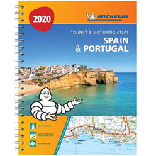 Load image into Gallery viewer, 2020 Michelin Spain & Portugal Road Atlas 9782067242661 front cover