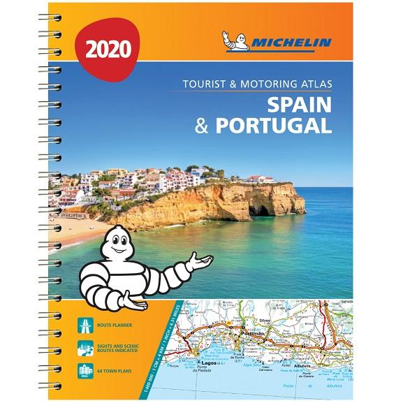 2020 Michelin Spain & Portugal Road Atlas 9782067242661 front cover