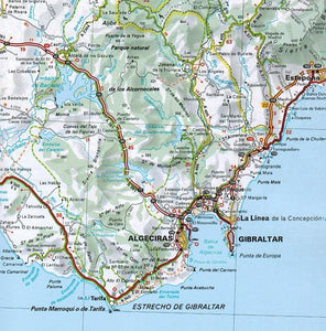 2020 Michelin Spain & Portugal Road Atlas 9782067242661 gibraltar map