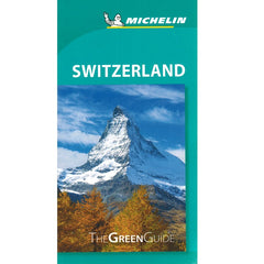 Switzerland - Michelin Green Guide 9782067229600 front cover