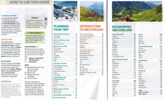 Switzerland - Michelin Green Guide 9782067229600 how to guide planning your trip introduction