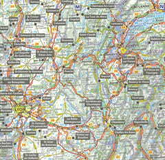 Michelin TrailerIBSN:s Park France Aires Map IBSN:9782919004072 Atlas, Altases, Map, Mapping, Locator map