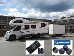 Michelin Tyre Pressure Monitoring for motorhomes caravans and cars