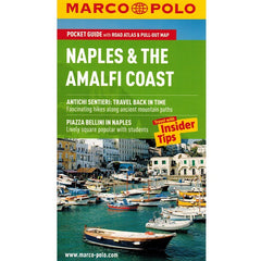 Marco Polo Naples & The Amalfi Coast Guide 9783829707336 front cover