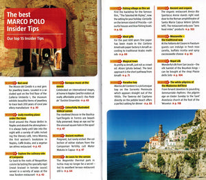 Marco Polo Naples & The Amalfi Coast Guide 9783829707336 the best marco polo insider tips