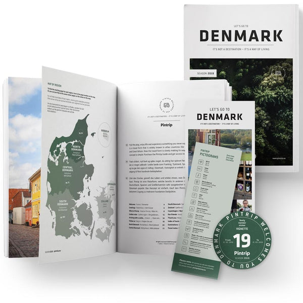 Pintrip Danish Passion guidbook contents 2019