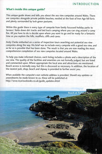 Sea View Camping Wales by vicarious media books united kingdom uk campsite guidebook