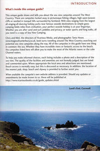 Sea View Camping West Country by vicarious media uk united kingdom campsite guidebook introduction