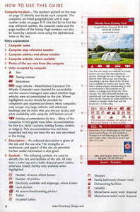 Sea View Camping West Country by vicarious media uk united kingdom campsite guidebook how to