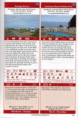 Sea View Camping West Country by vicarious media uk united kingdom campsite guidebook entry information