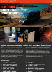 Self Build Campervan Conversions Renwicks Guides 9780992606534 back cover