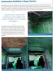 Self Build Campervan Conversions Renwicks Guides 9780992606534 condensation, ventilation & vapour barriers