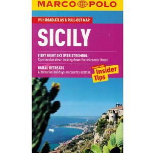 Marco Polo Sicily Guide IBSN:9783829706889 Travelguide, Tour, Driving Tour