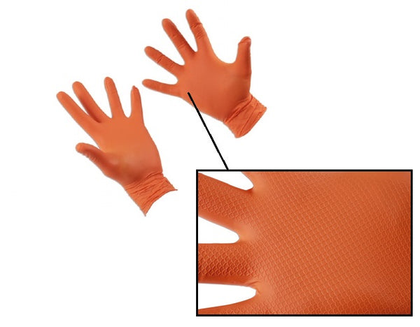 Grippaz Nitrile Gloves x10 for dirty jobs 5018341372965 5018341372972 37297 37296