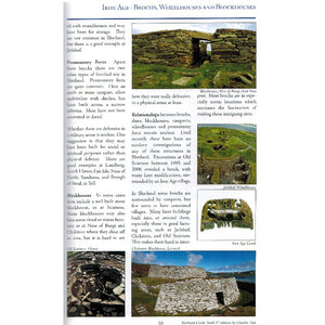 Shetland Guidebook by Charles Tait 9781909036017 iron age brochs wheelhouses and blockhouses