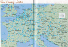 Load image into Gallery viewer, 2020 Caravan and Motorhome Club Touring Europe 9781999323639 route planning map europe
