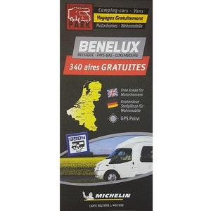 Michelin Benelux Trailer's Park Aires Map 9782919004522