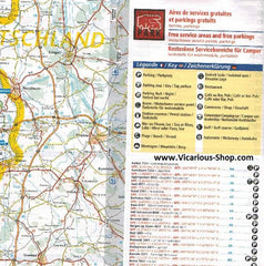 Michelin Benelux Trailer's Park Aires Map