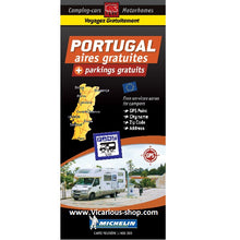 Load image into Gallery viewer, Michelin Portugal Trailer's Park Aires Map
