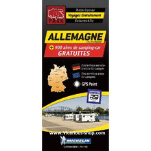 Load image into Gallery viewer, Trailers Park Germany Allemagne Aires Map by Michelin