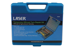Temporary Offroad Tyre Repair Kit by Laser 5018341068066