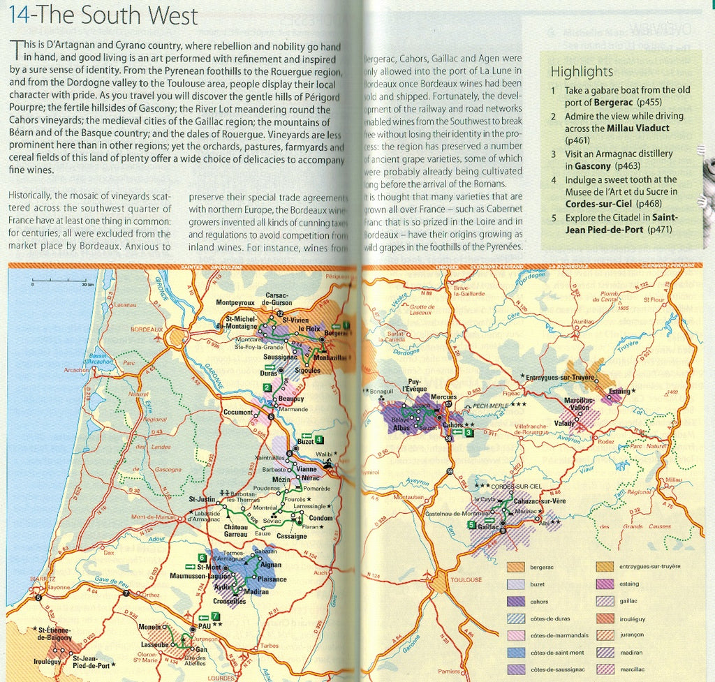 Map Of South Of France Regions.The Wine Regions Of France