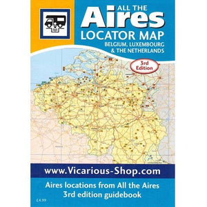 Locator Map All the Aires Belgium, Luxembourg and the Netherlands IBSN:97819106610631 Atlas, Altases, Map, Mapping, Locator map