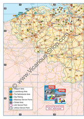All the Aires Belgium, Luxembourg and the Netherlands IBSN:9781910661063 Vicarious Media Motorhome Guidebook, Motorhoming, Aires, Stopovers, Caravan, Caravanning