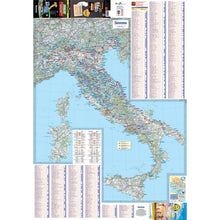 Load image into Gallery viewer, Michelin Italy Trailer's Park Aires Map