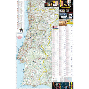 Michelin Portugal Trailer's Park Aires Map
